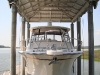 20,000 lb Aluminum Boathouse System (Front View)