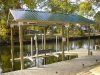 6,000 lb Aluminum Boathouse System (Gable Roof)