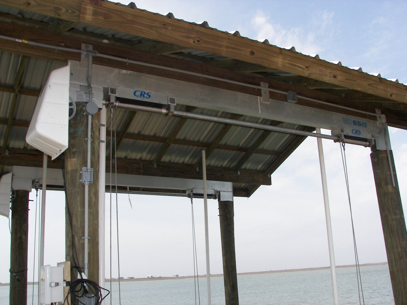 10,000 lb DECO Maxi Boathouse Lift Box Beam with CRS