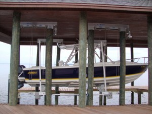 Boat Lifts Lake Norman NC