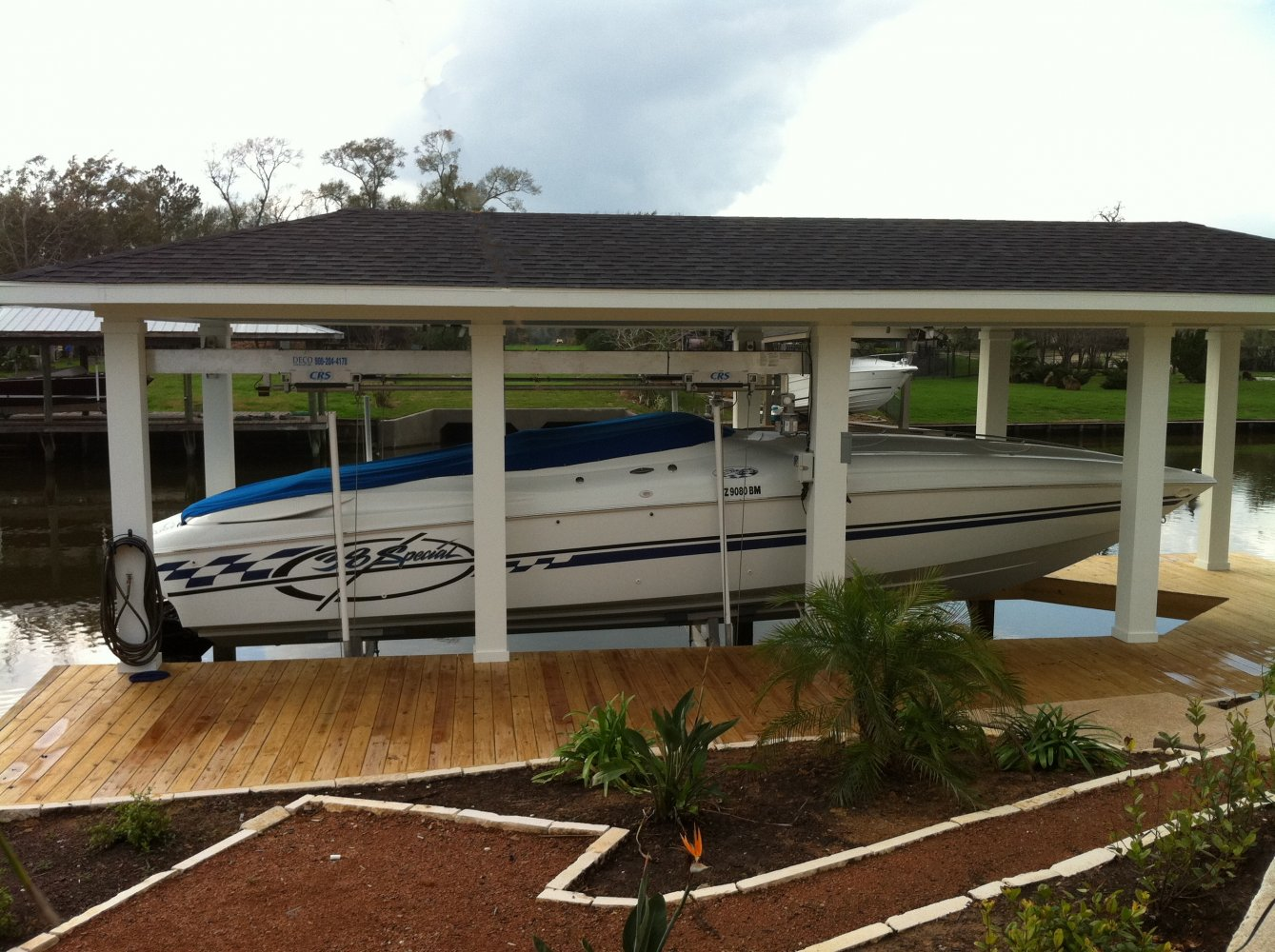 16,000 lb Custom Concept CRS Sidemount Lift 6-Piling