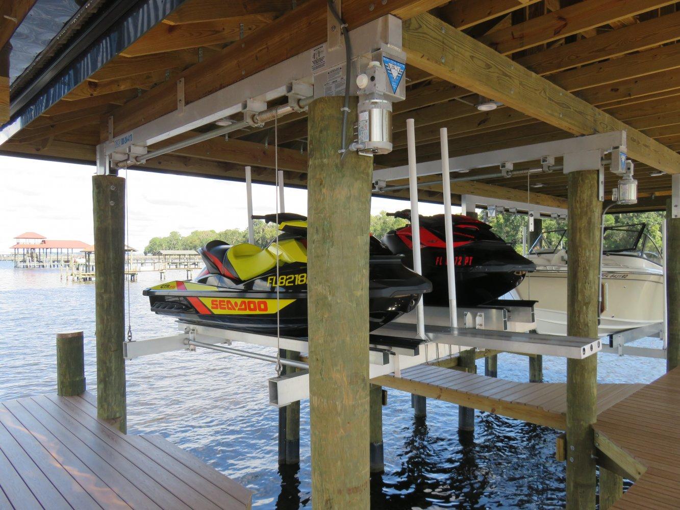 Jet Ski Lifts For Sale >> Pwc Lift Deco Boat Lifts