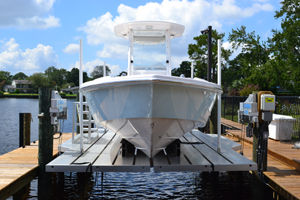 boat lift Miami