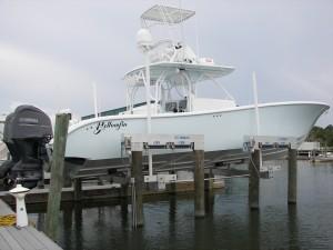 marina boat lift