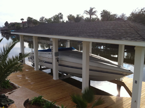 boat lift Destin