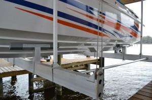 Boat Lift Topsail Beach NC