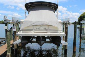 Boat Hoist Topsail Beach NC