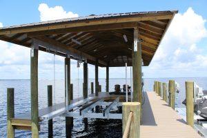Boathouse Lift Panama City Beach FL
