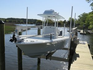Boat Lift Key Largo FL