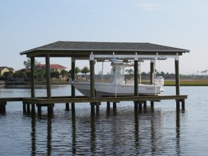 Boathouse Lift Orange Beach FL
