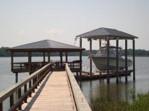 Boat House Lift Dauphin Island AL