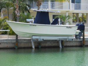 Boat Elevator Marco Island FL